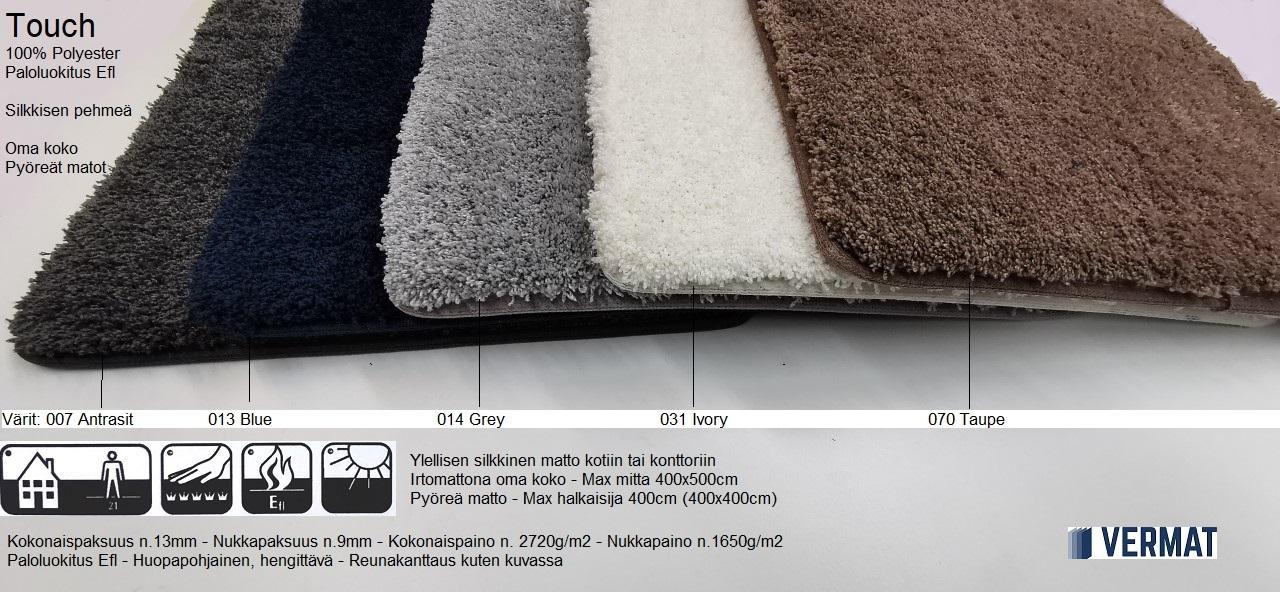 Nukkamatto Touch - silkkisen pehmeä