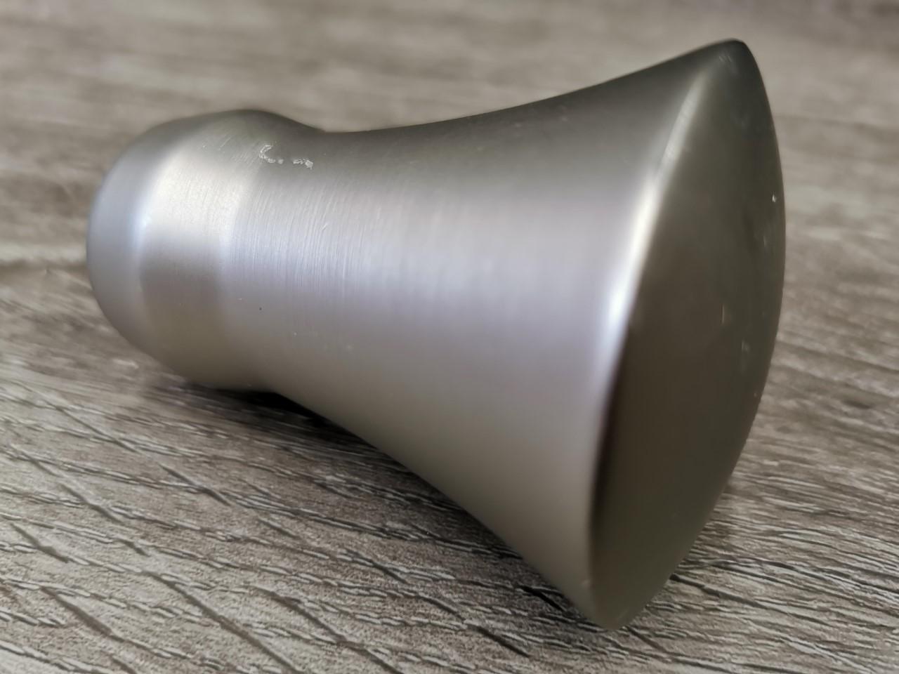 25mm tankopääty suippo matta hopea