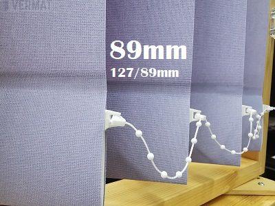 Cara 89mm peittävä pystylamellikaihdin kangas  - tyylikäs struktuuri - Pystylamellikaihtimet vermat.fi verkkokaupasta