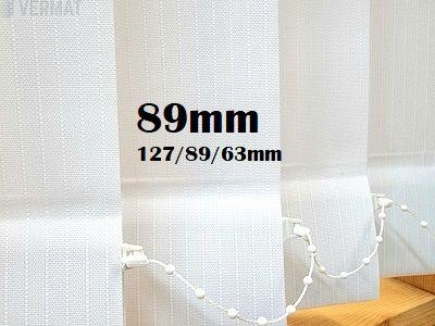 Pystylamellikaihdin 89mm raidallisella  peittävällä struktuurisella LINE-kankaalla - Pystylamellikaihtimet vermat.fi verkkokaupasta, netistä