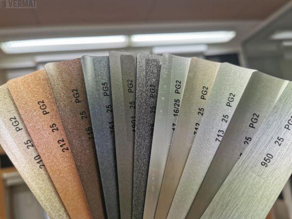 Sälekaihdin pinta-asennusmalli 25mm, metallivärit - Sälekaihtimet vermat.fi verkkokaupasta