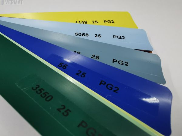 Sälekaihdin pinta-asennusmalli 25mm värillinen - Sälekaihtimet vermat.fi verkkokaupasta