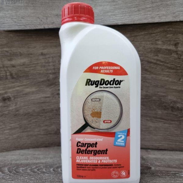 Mattopesuaine Carpet Detergent 1ltr vuokrapesuriin - Biologisesti hajoava pesuaine - Erittäin tehokas lianpoistaja