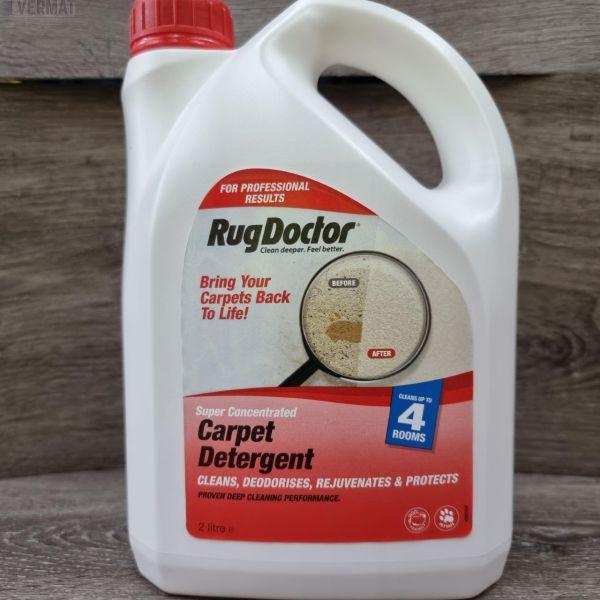 Mattopesuaine Carpet Detergent 2ltr vuokrapesuriin - Biologisesti hajoava pesuaine - Erittäin tehokas lianpoistaja