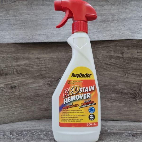 Tahranpoistoaine RED Stain Remover mattoihin, verhoiluun ja kankaisiin