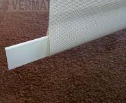 Paneliverhon alapaino 25mm omalla mitalla, hinta per metri