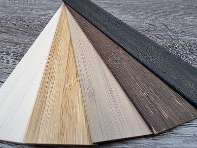 Bambu puusälekaihdin 25mm säleleveydellä - Puusälekaihtimet mittojen mukaan