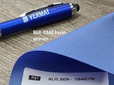 Pelkkä kangas ilman mekanismia - BER peittävä rullaverhokangas, läpinäkymätön, valoa läpi päästävä kangas