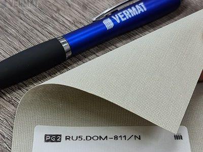 Rullaverhokangas ilman mekanismia - DOM peittävä, valoa läpipäästävä rullaverhokangas vermat.fi verkkokaupasta