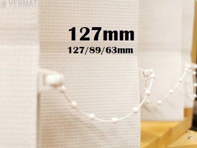 Pystylamellikaihdin Gadi 127mm hyvin peittävä kangas - Pystylamellikaihtimet netistä