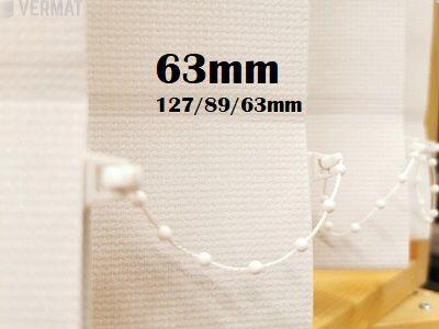 Pystylamellikaihdin Gadi 63mm hyvin peittävä kangas - Pystylamellikaihtimet netistä