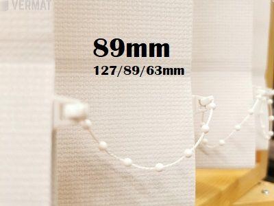 Pystylamellikaihdin Gadi 89mm hyvin peittävä kangas - Pystylamellikaihtimet netistä