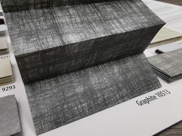 TYPE 14 pimentävä kuviollinen GRAPHITE-kangas