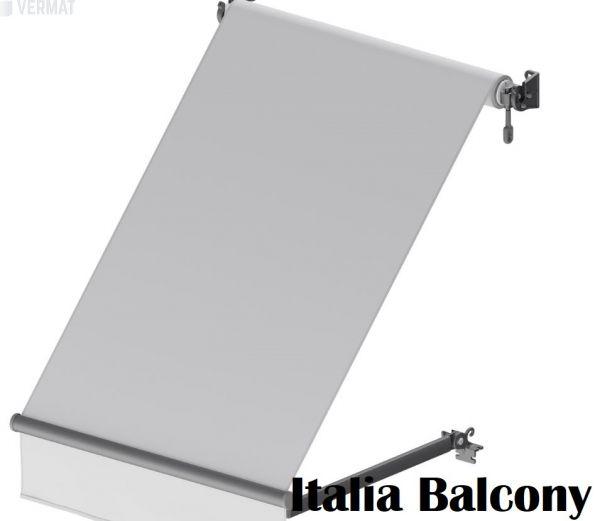 Italia Balcony sivuvarsimarkiisi - ikkunamarkiisi