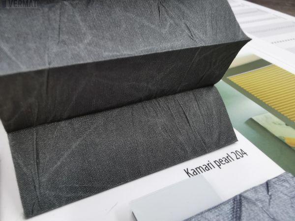 PR1500 - yksivärinen peittävä KAMARI PEARL-kangas