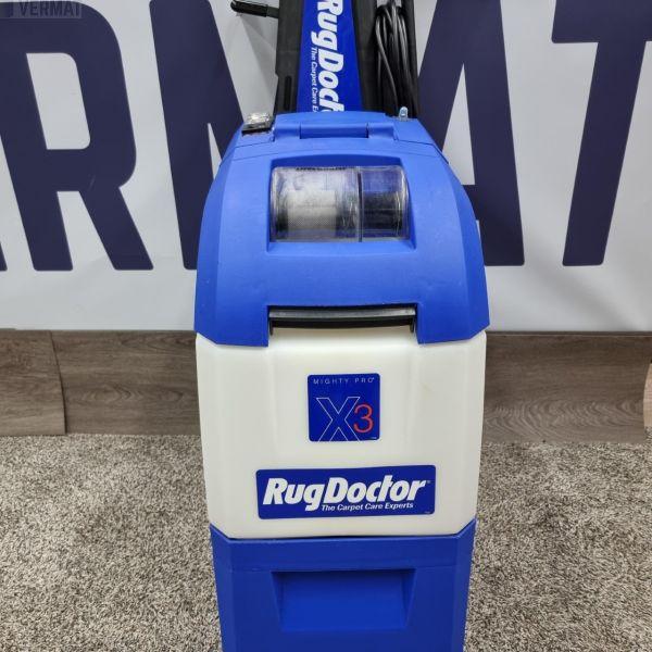 RugDoctor X3 - Professional - harjaava mattopesuri, jon voi liittää kalustepesimen