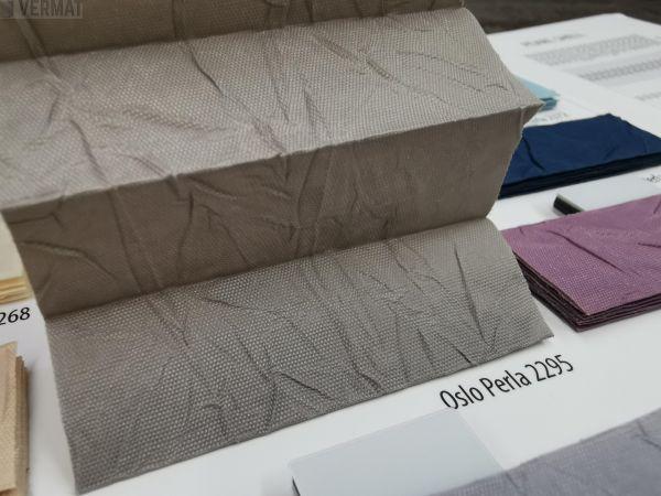 PR1500 - yksivärinen peittävä OSLO PERLA-kangas