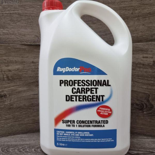 Mattopesuaine Professional Carpet Detergent 5ltr - Biologisesti hajoava pesuaine korkeapaine mattopesureihin