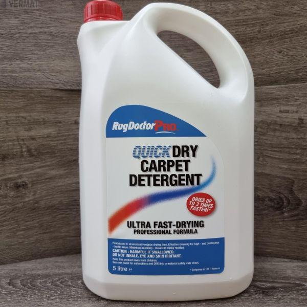 Mattopesuaine Quick Dryl Carpet Detergent 5ltr - Biologisesti hajoava pesuaine korkeapaine mattopesureihin -